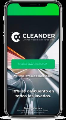 pantalla-aplicación-cleander